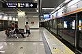 Platform of Liulin Station 20190516 02.jpg