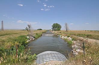 National Register of Historic Places listings in Platte County, Wyoming - Image: Platte County WY Duncan Ranch HD 2