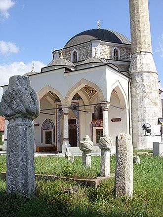 Islam in Montenegro - Image: Pljevlja Mosque 2