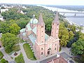 Plock Cathedral aerial photograph 2019 P04.jpg