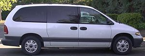 Plymouth Grand Voyager minivan.