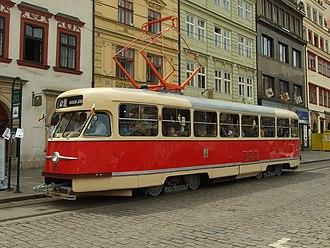 Tatra T2 - Tatra T2 in Pilsen