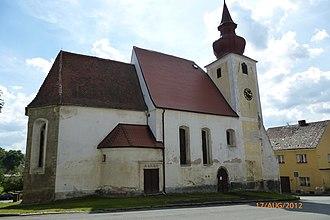 Poběžovice - Image: Poběžovice Kirche