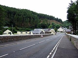 Felindre Farchog Human settlement in Wales