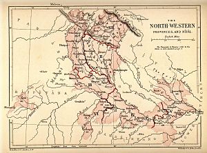 North-Western Provinces - North-Western Provinces, constituted in 1836 from erstwhile Presidency of Agra