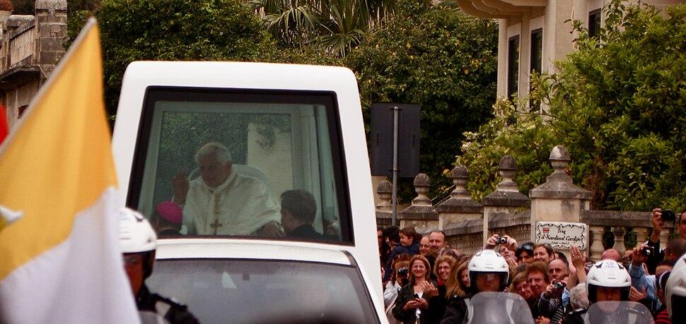 Pope Benedict XVI in Malta