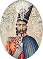 Portrait of Nasir Al-Din Shah, Iran, Circa 1850.jpg