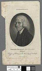 Thomas Martyn, B.D., F.R. & L.S.S