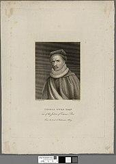 Thomas Owen Esqr