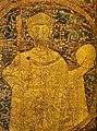 Portrayal of Stephen I, King of Hungary on the coronation pall.jpg
