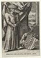 Portret van Johan III van Navarra Iohannes dei Gratia Navarrae. etc. Rex (titel op object), RP-P-1910-2303.jpg
