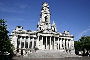 Portsmouth Guildhall - Portsmouth Guildhall seen in 2004