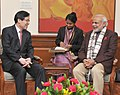 Posco CEO Kwon Oh-Joon meets PM Modi.jpg