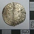 Post Medieval Coin , Henry VIII Groat (obverse) (FindID 590161).jpg