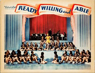 <i>Ready, Willing, and Able</i> (film) 1937 film by Ray Enright