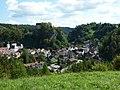 Pottenstein mit Burg, vom Bayreuther Berg - geo.hlipp.de - 13905.jpg