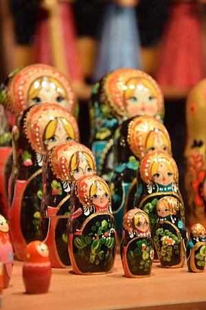 Matryoshka doll - Alsacian matryoshka dolls