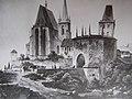Pražská brána in Slaný by Karel Würbs.jpg