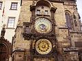 Prag Rathaus Astronomische Uhr 2.JPG