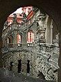 Praha, Trója, Trojský zámek, ve schodišti.jpg