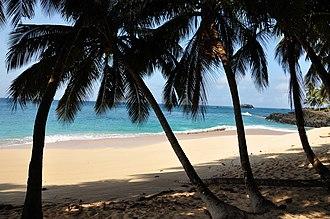 Príncipe - Image: Praia Boi