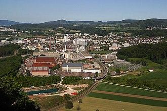 Pratteln - Image: Pratteln Industrie