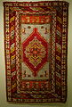 Prayer rug, Turkey, Konieh, or Bergama, late 19th - early 20th century, wool - Huntington Museum of Art - DSC04854.JPG