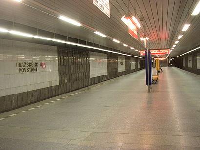 Jak do Pražského Povstání hromadnou dopravou - O místě