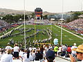 Pregame, University of Arizona Wildcats vs. University of Nevada Wolf Pack, Mackay Stadium, Reno, Nevada (21186053639).jpg