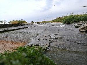Presa del río Júcar cerca de Fortaleny general.jpg