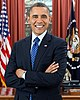 Portrait officiel de Barack Obama