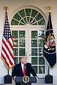 President Donald J. Trump Delivers Remarks on the Government Shutdown (45960489705).jpg
