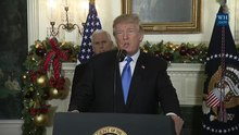 চিত্র:President Trump Gives a Statement on Jerusalem, December 2017.webm