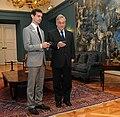 Presidente Piñera with Jack Dorsey.jpg