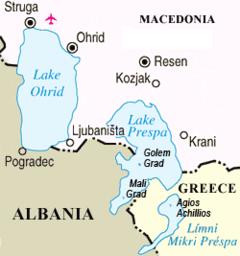 Dünya Gölleri - Prespa Gölü
