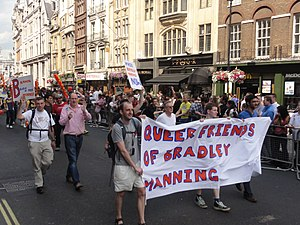 English: Pride London 2011, near Whitehall.