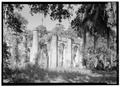Prince William's Parish Church (Ruins), Sheldon, Beaufort County, SC HABS SC,7-SHELD,1-1.tif