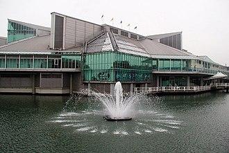Princes Quay - Prince's Quay Shopping Centre built over Prince's Dock
