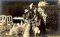 Princess Stéphanie with her second husband.jpg