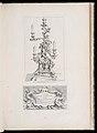 Print, Projet de grand Chandelier à branche pour le Roy., Chandelier à cinq branches avec un dragon, 2nd Plate, 1740 (CH 18222515-2).jpg