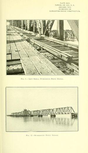 Dumbarton Rail Bridge - Image: Proceedings 39amer 0233