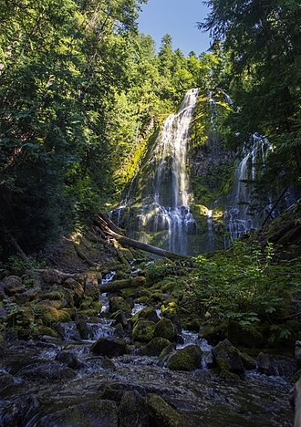 Three Sisters Wilderness - Proxy Falls in the wilderness