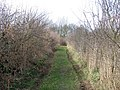 Public footpath skirting Bracken Farm Barn - geograph.org.uk - 1203388.jpg