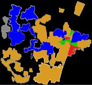 Puducherry Legislative Assembly election, 2016 - Image: Puducherry 2016 Election Map by Constituencies