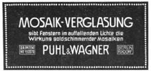 Puhl und Wagner Inserat Mosaikverglasung.png