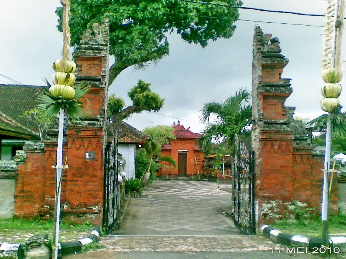 Puri Agung Tabanan - Wikipedia bahasa Indonesia, ensiklopedia bebas