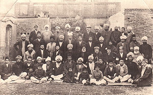 Qadian - Members of the Ahmadiyya Muslim Community who spoke 47 different languages in Qadian.