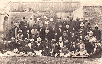 Qadian - Members of the Ahmadiyya Muslim Community who spoke 47 different languages in Qadian.