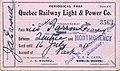 Quebec Railway, Light & Power Co. train pass.jpg