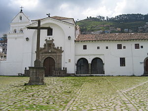Culture of Ecuador - The Spanish Historical Center in Quito, Ecuador